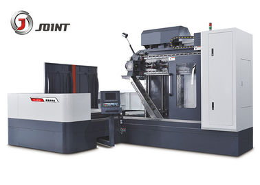 High Rigidity CNC Deep Hole Drilling Machine , Three Axis Deep Hole Boring Machine