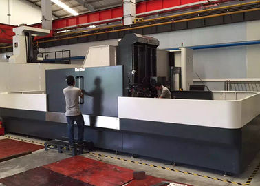 Singel Spindle CNC Deep Hole Drilling Machine 2200 * 1350mm Table Size 2200kgs